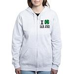 San Jose Irish Zip Hoodie
