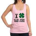 San Jose Irish Racerback Tank Top