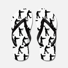 'Zombies' Flip Flops