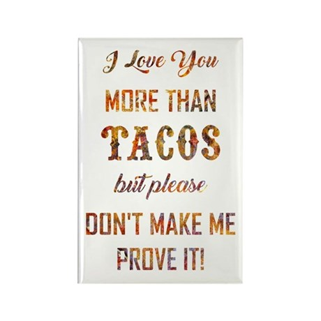 TACOS Rectangle Magnet (100 pack)