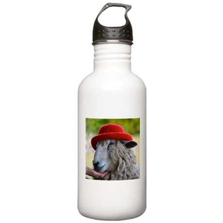 Sally the sheep Water Bottle