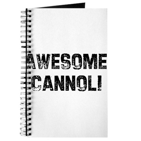 Awesome Cannoli Journal