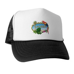 Parrot Cacher Trucker Hat