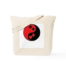 Yin Yang Cards Tote Bag