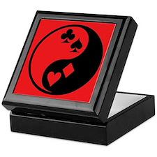 Yin Yang Cards Keepsake Box