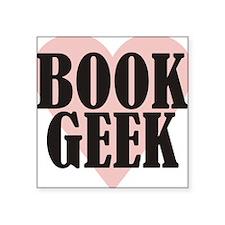 Book Geek Sticker