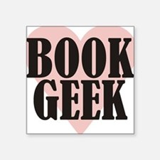 Book Geek Sticker
