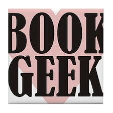 Book Geek Tile Coaster