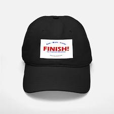 FINISH! San Fran Marathon Baseball Hat