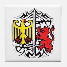 Rampart Lion and Eagle Tile Coaster