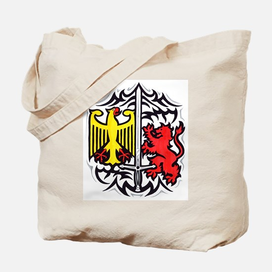 Rampart Lion and Eagle Tote Bag