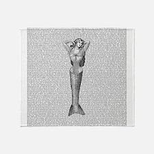 The Little Mermaid Throw Blanket