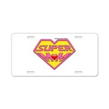Supermom Aluminum License Plate