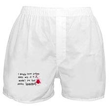 ...pesky luminol Boxer Shorts