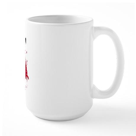 ...pesky luminol Large Mug