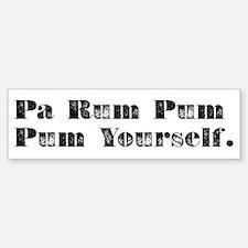 Pa Rum Bumper Bumper Sticker