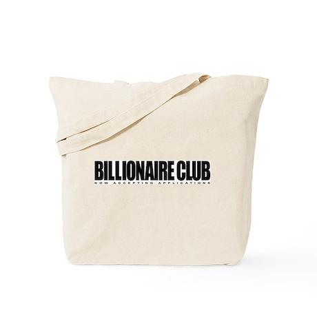 Billionaire Club Tote Bag