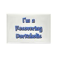 Recovering Dorkaholic Rectangle Magnet