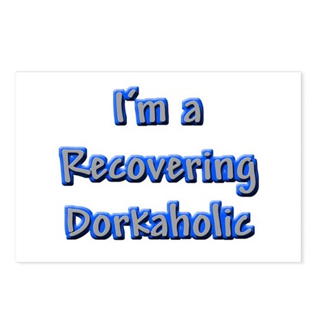 Recovering Dorkaholic Postcards (Package of 8)