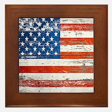 Cute United states Framed Tile