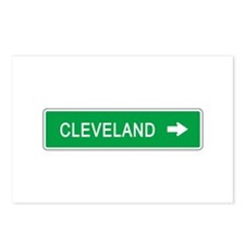 Roadmarker Cleveland (OH) Postcards (Package of 8