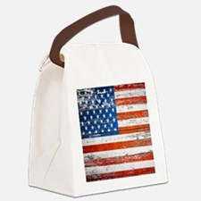 Cute United states Canvas Lunch Bag