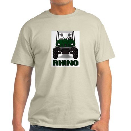 Rhino Green Ash Grey T-Shirt