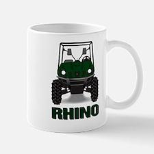 Rhino Green Mug