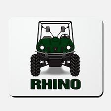 Rhino Green Mousepad