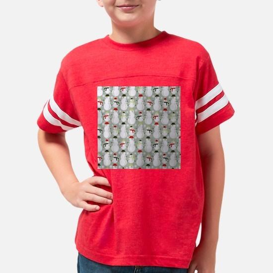 Cute Seasonal and holiday Youth Football Shirt