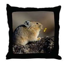 Trumpeting the Sunrise Throw Pillow