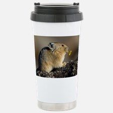Trumpeting the Sunrise Travel Mug