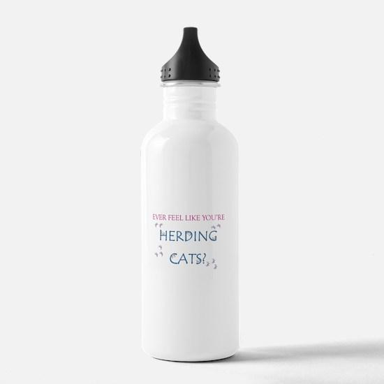 Herding Cats Water Bottle