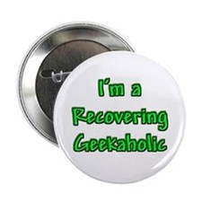 Recovering Geekaholic Button