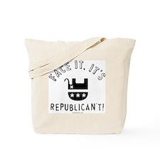 Republican't Tote Bag