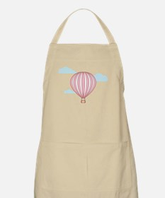 Pink Hot Air Balloon Apron