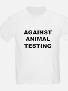 Against Animal Testing Kids T-Shirt