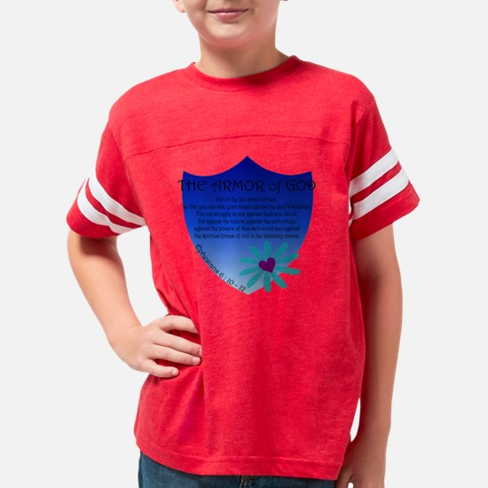 Armor of God Youth Football Shirt