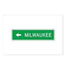 Roadmarker Milwaukee (WI) Postcards (Package of 8)