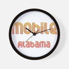 Mobile, Alabama 2 Wall Clock
