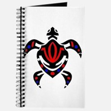 Tribal Colorful Sea Turtle Journal