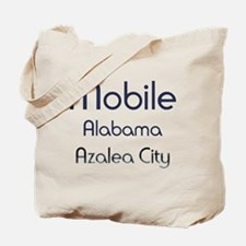 Mobile, Alabama - Azalea City 1 Tote Bag
