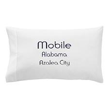 Mobile, Alabama - Azalea City 1 Pillow Case