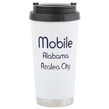 Mobile, Alabama - Azalea City 1 Travel Mug