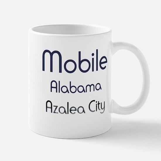 Mobile, Alabama - Azalea City 1 Mugs