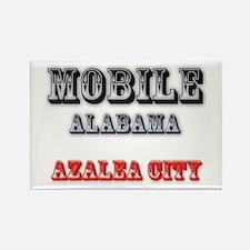 Mobile Alabama Azalea City 2 Magnets