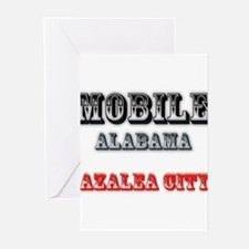 Mobile Alabama Azalea City 2 Greeting Cards