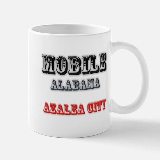Mobile Alabama Azalea City 2 Mugs