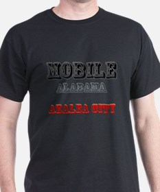 Mobile Alabama Azalea City 2 T-Shirt