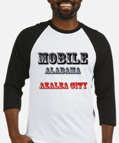 Mobile Alabama Azalea City 2 Baseball Jersey